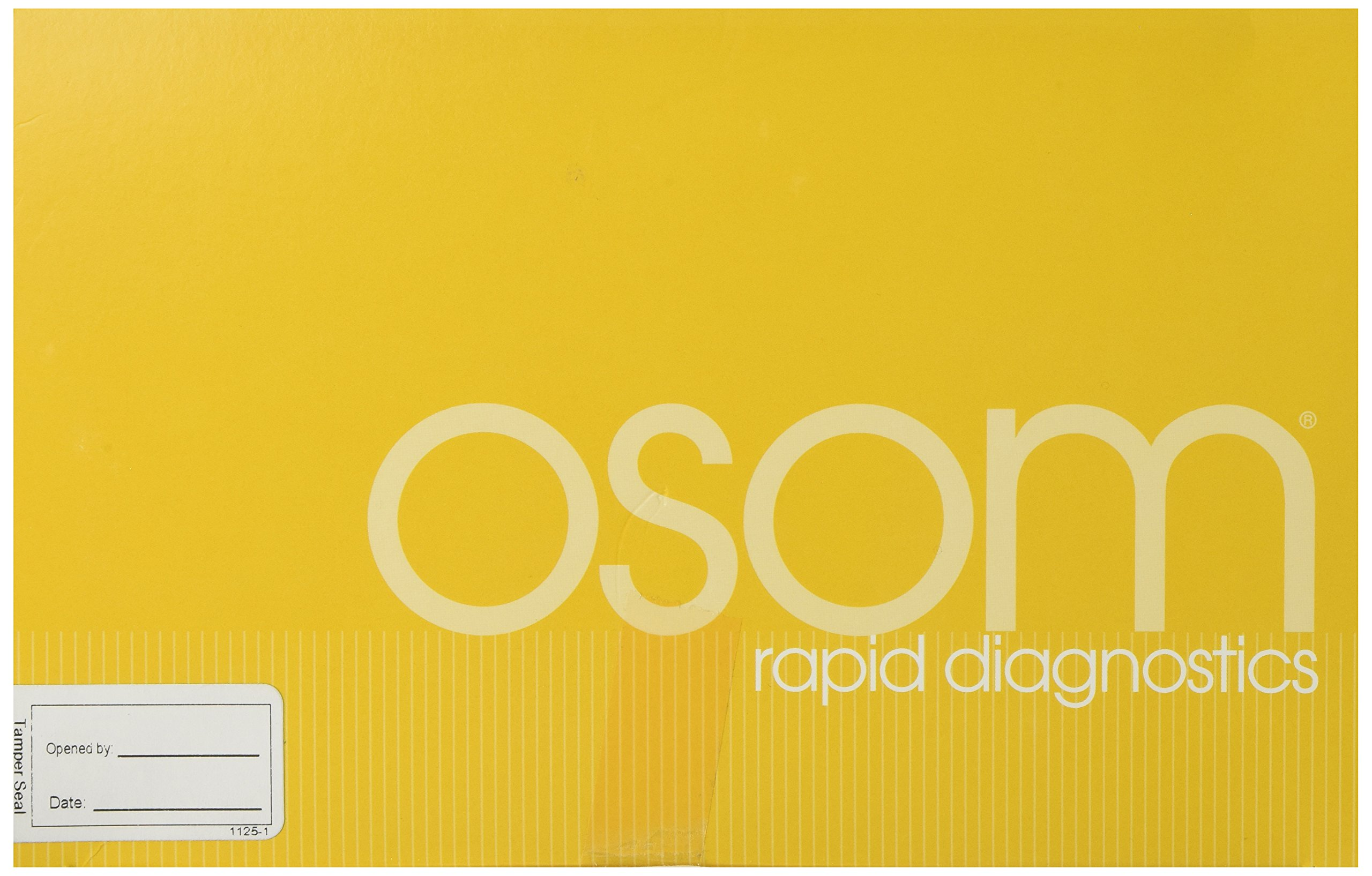 OSOM HCG Combo Pregnancy Test 25/Box by Genzyme
