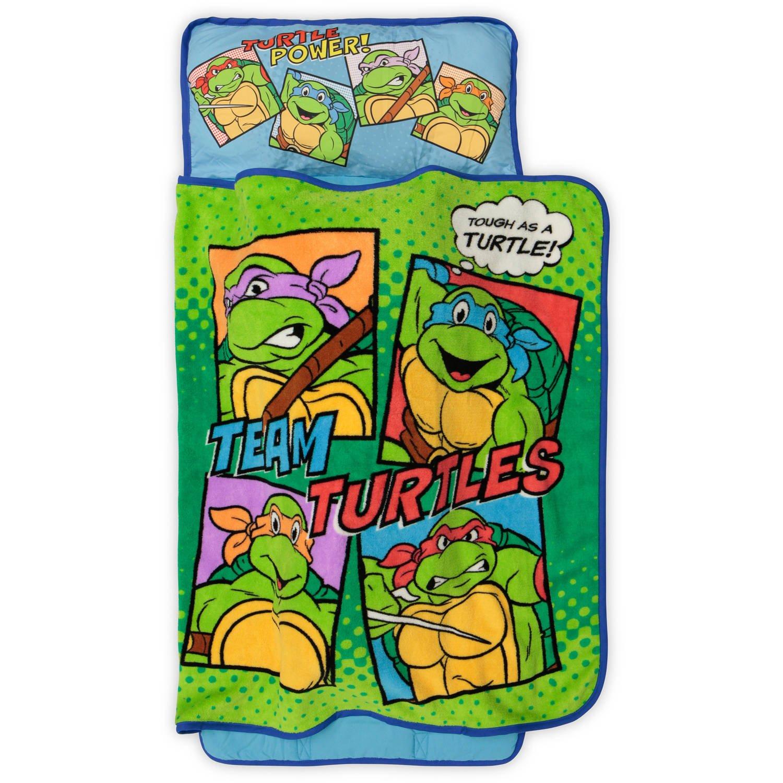 Teenage Mutant Ninja Turtles rígida como una Tortuga Toddler ...