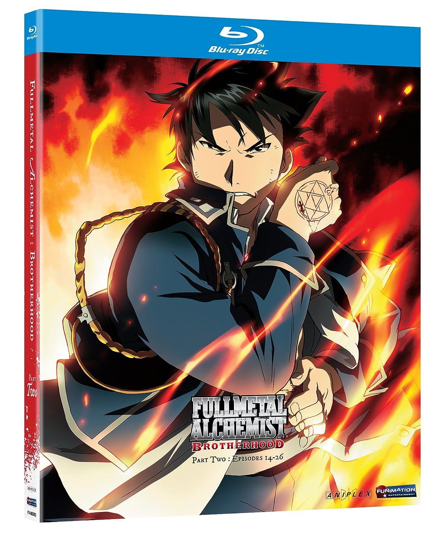 Fullmetal Alchemist: Brotherhood Part 2 USA Blu-ray: Amazon.es: Fullmetal Alchemist-Brotherhoo: Cine y Series TV