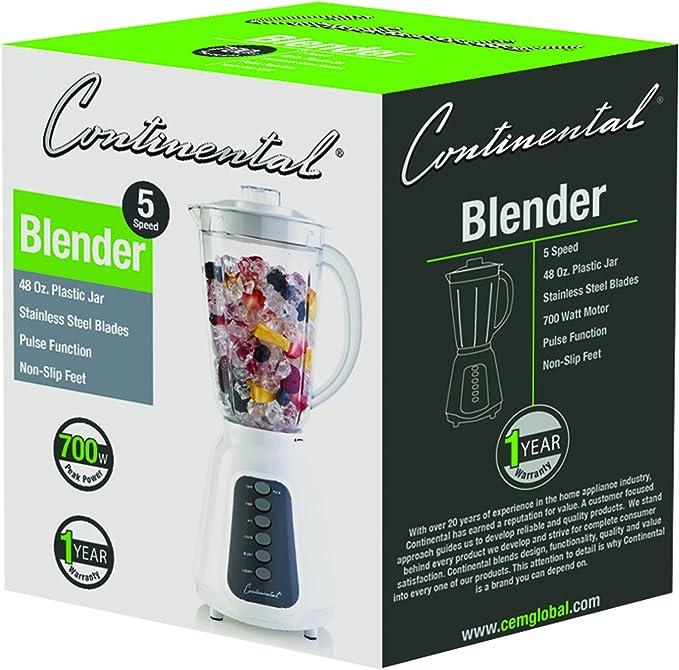 Continental Electric CE-BL171 licuadora: Amazon.es: Hogar