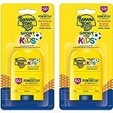 Banana Boat Sport Sunscreen for Kids, Stick, Won't Run into Eyes, SPF 50+, Twin Pack 2x14.2g
