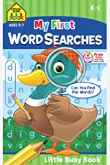 My First Word Searches: Ages 5-7, K-1 (Little Busy Book) Paperback