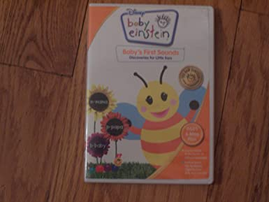 Amazon Com Baby Einstein Baby S First Sounds Discoveries For