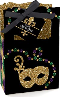 product image for Mardi Gras - Masquerade Party Favor Boxes - Set of 12