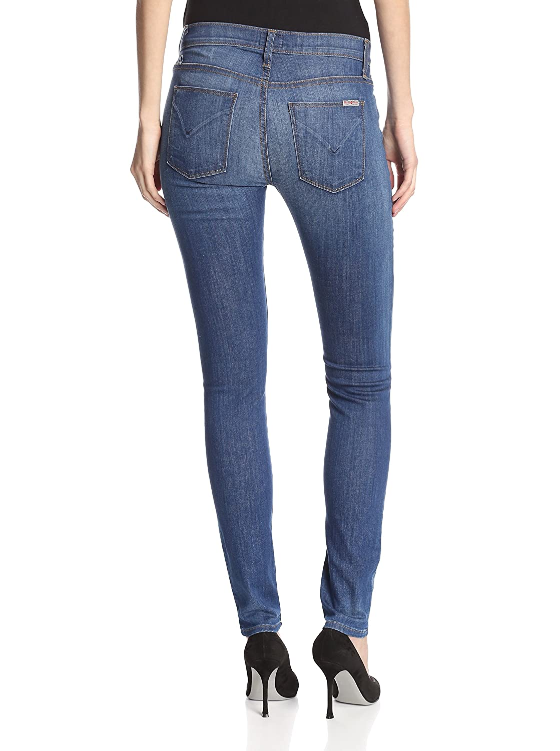 Hudson Midrise Nico Super Skinny Color SSTO Jeans 30