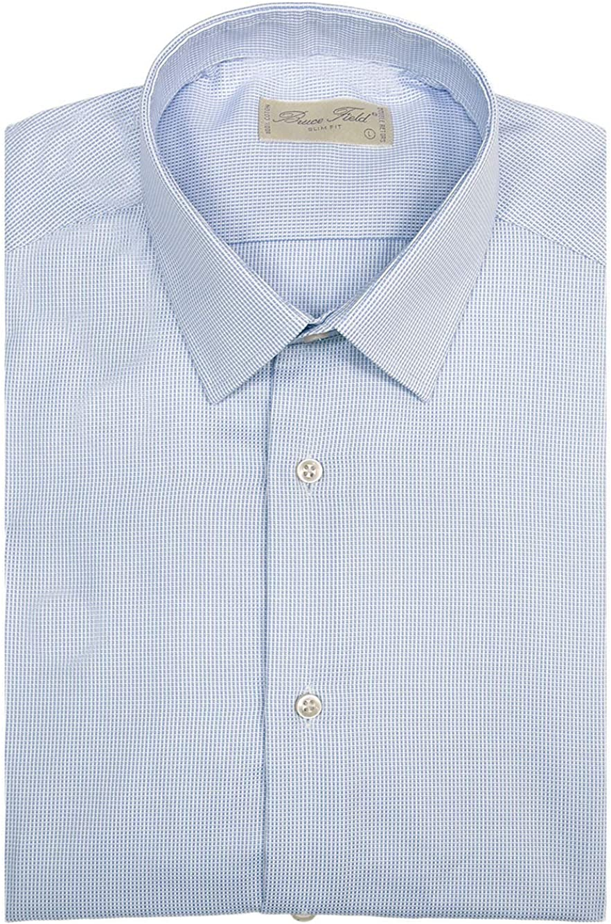 Bruce Field – Camisa para hombre Cintrée en algodón piqué ...