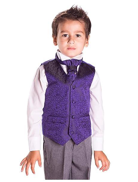 Página Niño Disfraz, Chaleco Traje, boda traje, Niños Formal Traje, Gris Pantalones