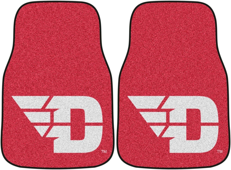 FANMATS NCAA University of Dayton Flyers Nylon Face Carpet Car Mat