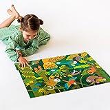 Petit Collage Floor Puzzle, Wild Rainforest, 24