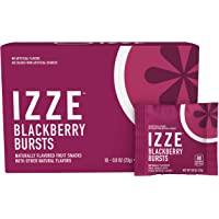 18-Pack Izze Blackberry Bursts Organic Fruit Snacks