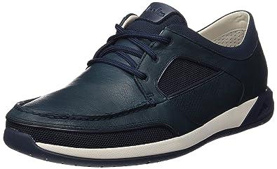 Ormand Sail, Chaussures Bateau Homme, Bleu (Navy Leather), 41.5 EUClarks
