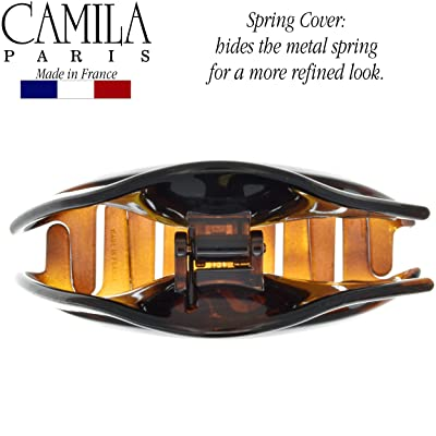 Camila Paris CP2789 3.5 Inch French Hair Clip for Women with Spring Cover