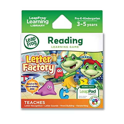 LeapFrog Letter Factory Learning Game (works with LeapPad Tablets and Leapster GS): Toys & Games [5Bkhe0307248]