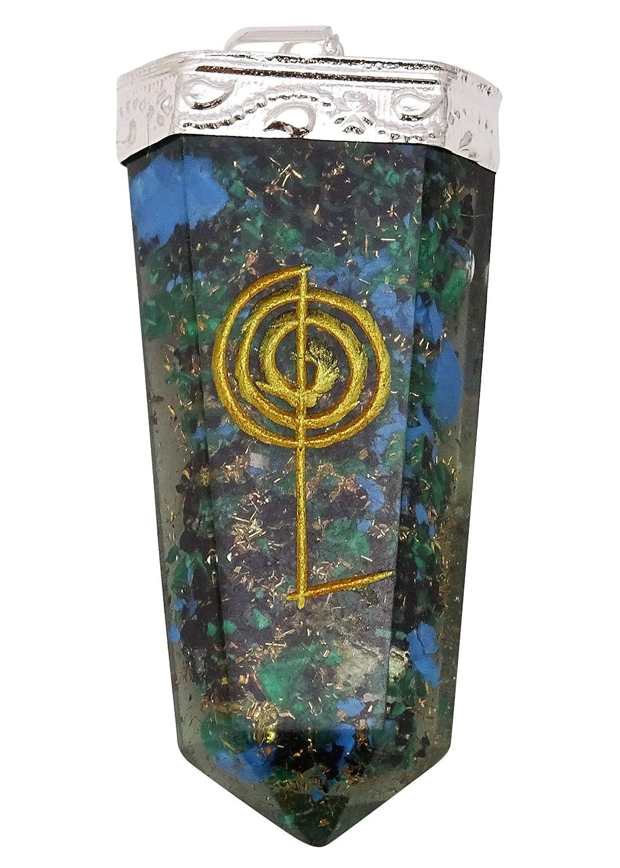 Harmonize Orgone Sword Multistone Pendant Reiki Healing Crystal Chakra Balancing Therapy Spiritual CDJ285A-1