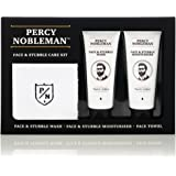 Face & Stubble Care Kit by Percy Nobleman, A Men's Gift Set For Skin Care