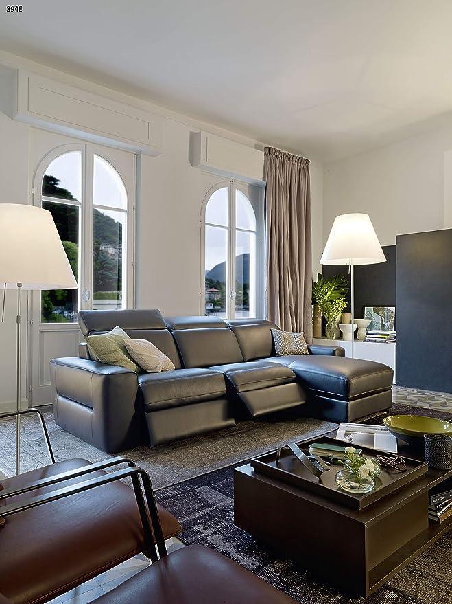 Chateau Dax Sofa Piel Joseph 2 plazas Relax más Chaise ...