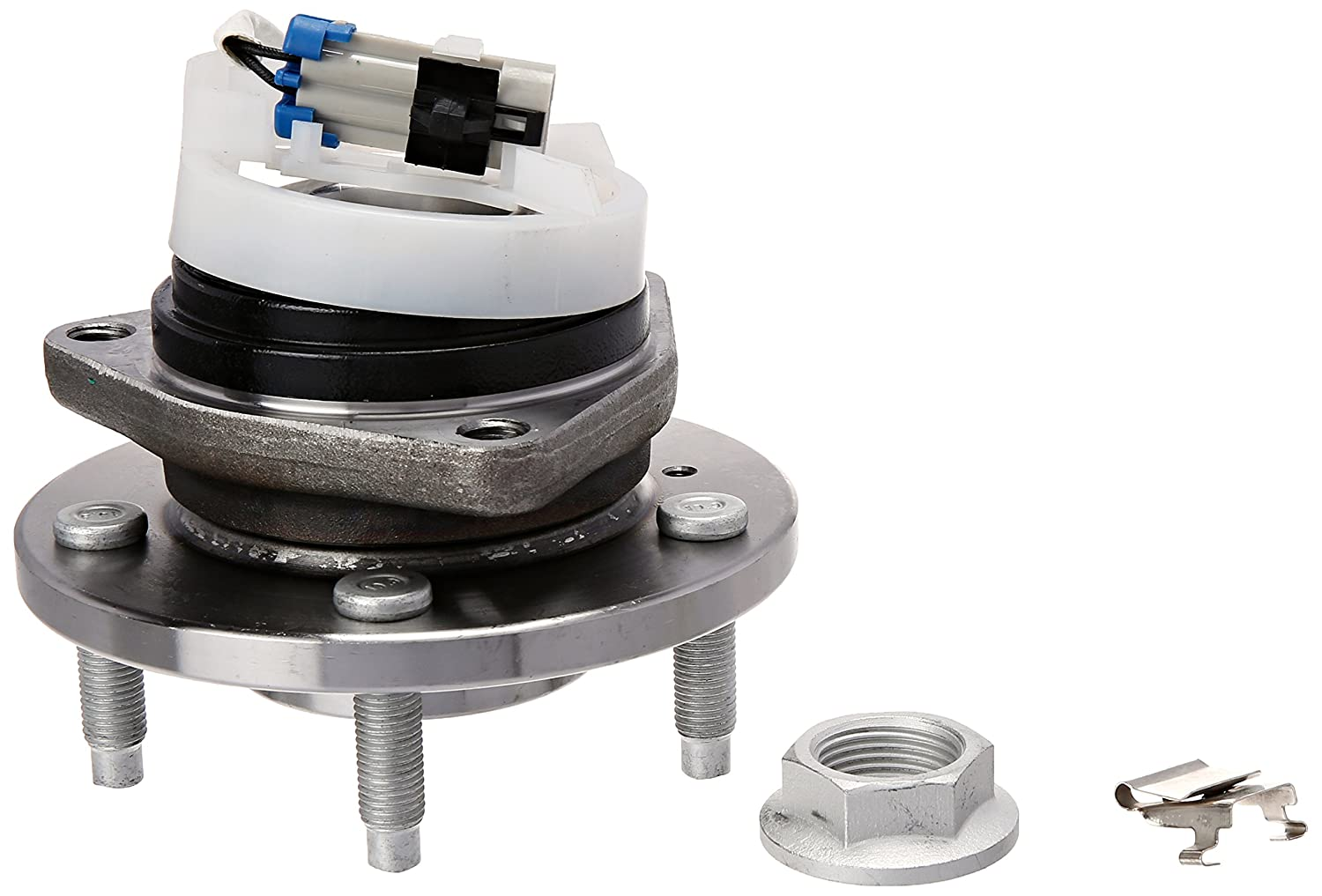 Brand New Front Wheel Hub and Bearing Assembly DeVille, Impala, LaCrosse, LeSabre, Regal, Rendezvous FWD W/ABS Detroit Axle H513179