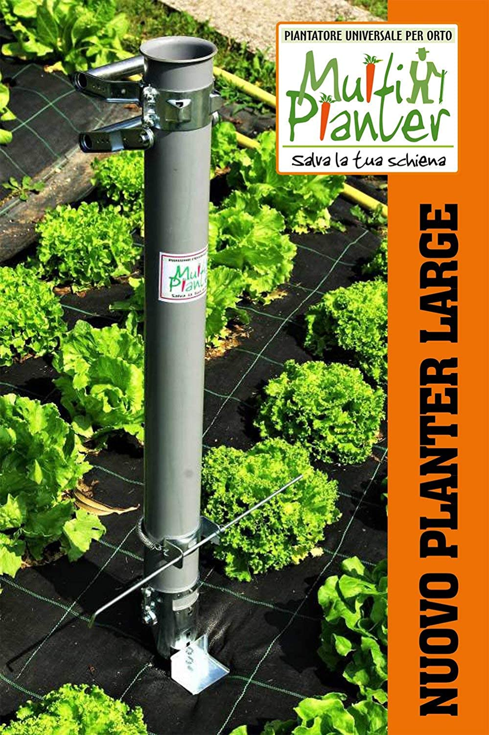 Bulbs and Small Plants Quickly and Easily with no Back Pain Large Multiplanter Lightweight Bulb Planter Plants Seeds