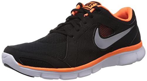 e5fe5438e08a6 Nike Men's Flex Experience Rn 2 Msl Black, Metallic Cool Grey, Total ...