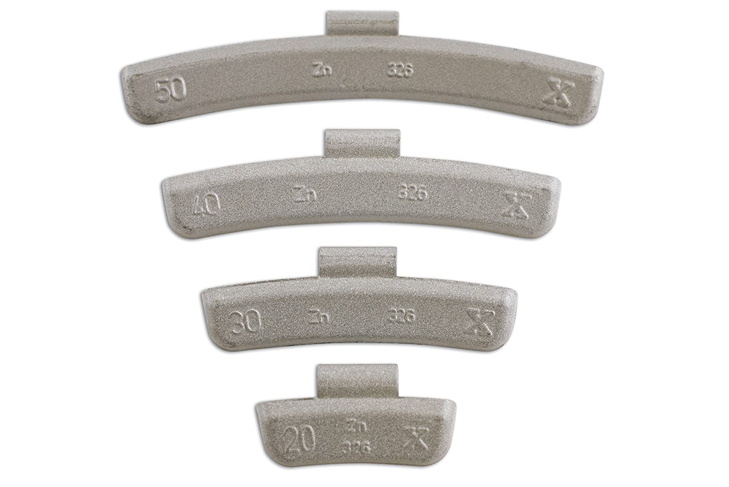 Connect 32856 20g Wheel Weights for Alloy Wheels (Box of 100) The Tool Connection Ltd.