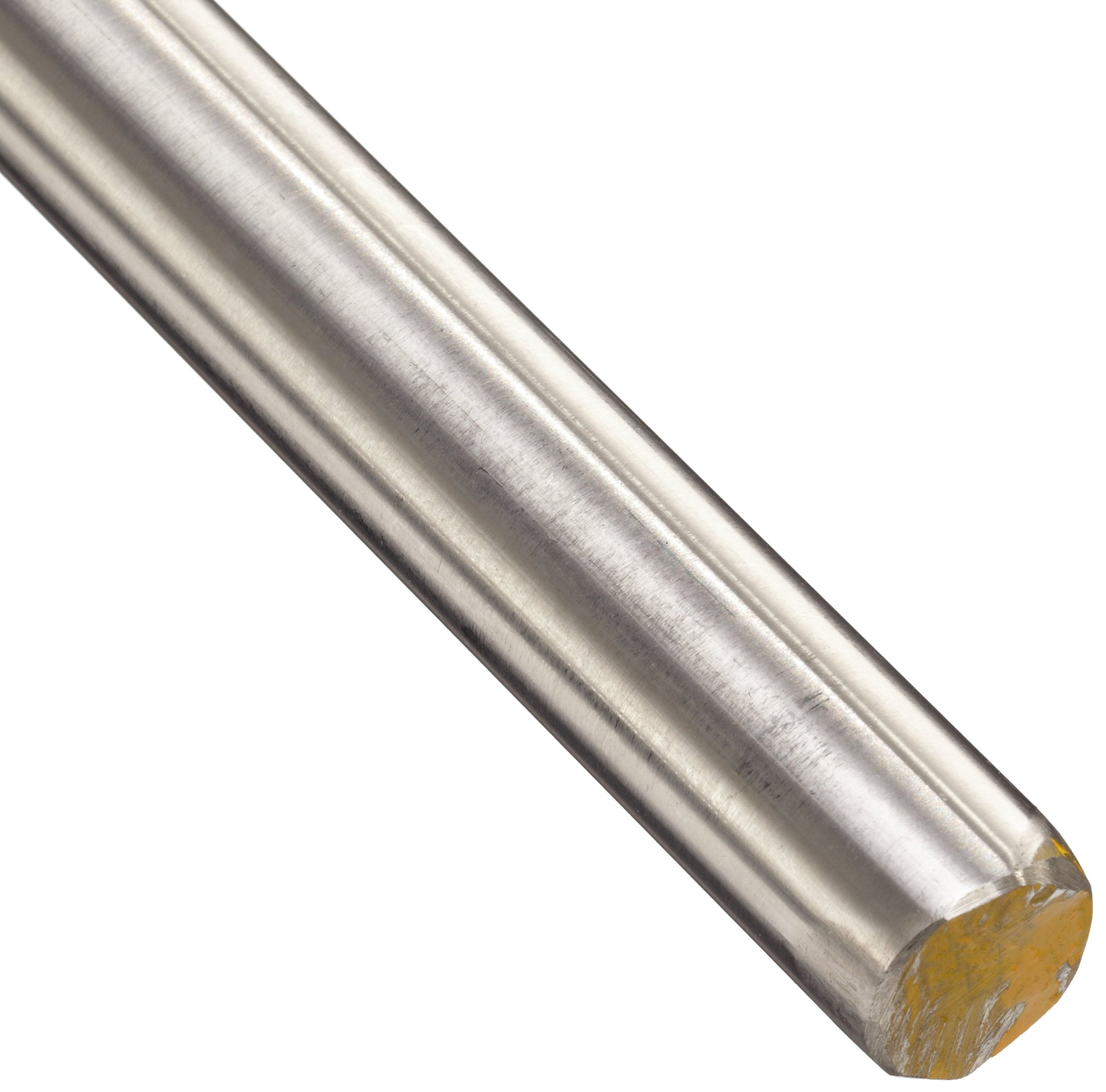 303 Stainless Steel Round Rod, Ground, Precision Tolerance, ASTM A582, 11/16'' Diameter, 12'' Length by Small Parts