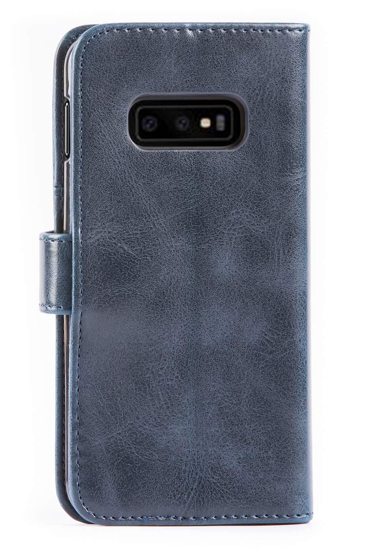 Housse Cuir Samsung Galaxy S10e Mulbess /Étui Coque en Cuir Samsung Galaxy S10e Housse Portefeuille Magn/étique avec La Fonction Stand pour Samsung Galaxy S10e Brun