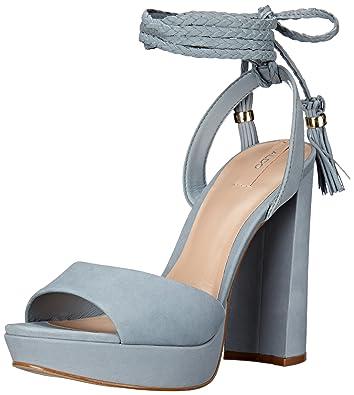 6c736c1cc9d7 ALDO Women s CHARERI Dress Sandal Light Blue 6.5 ...