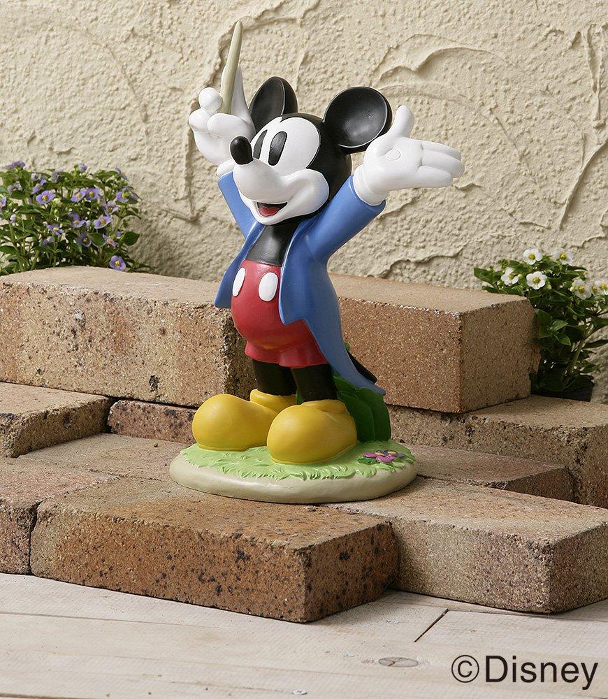 Amazon.com : Takasho Disney Garden Statue Musicians Mickey Mouse ...