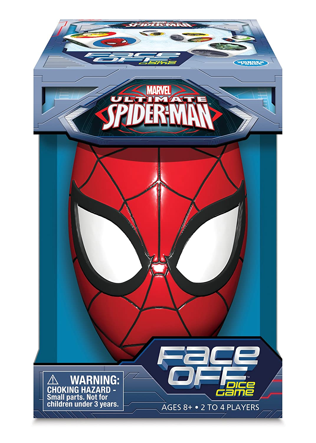 amazon com marvel ultimate spider man face off dice game toys