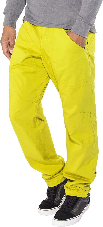 E9 3Angolo - Pantalones de Trekking Hombre - Amarillo Talla M ...
