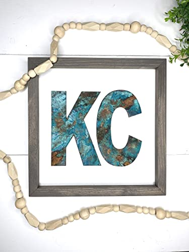 Amazon Com Rustic Kansas City Sign Kcmo Sign Farmhouse Kansas City Missouri Handmade