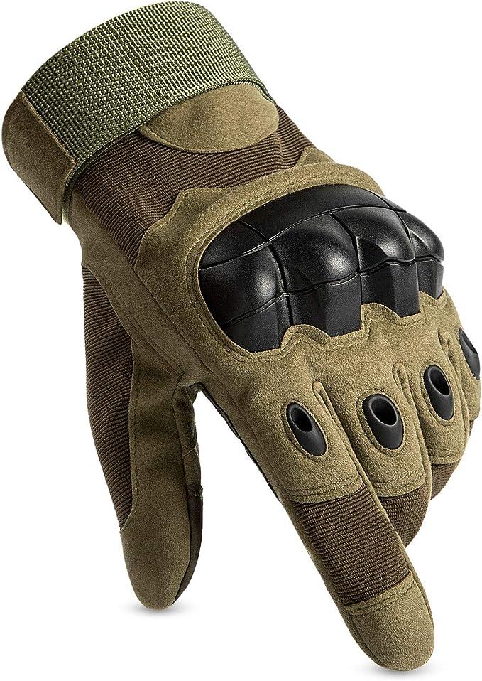 Huntvp Taktische Handschuhe Touchscreen Militär Einsatzhandschuhe Atmungsaktiv Fahrrad Handschuhe Motorradhandschuhe Für Softair Paintball Outdoor Wandern Klettern Radsport Bekleidung