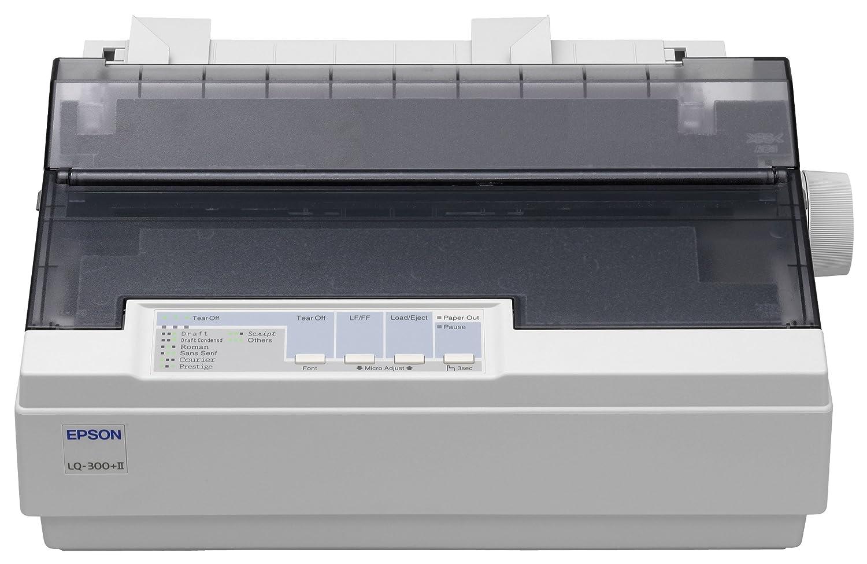 Epson LQ-300+II - Impresora Blanco y Negro (A4 (210 x 297 mm ...