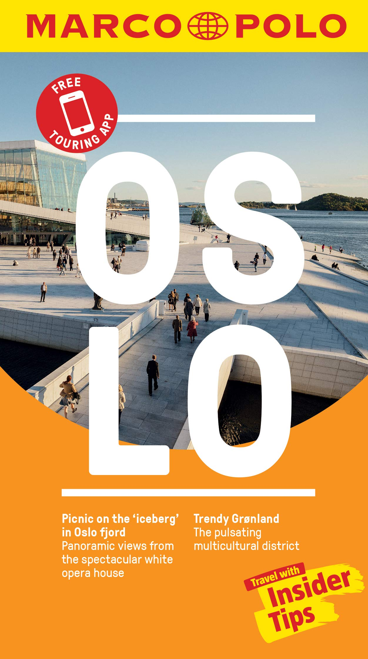 Oslo Marco Polo Pocket Travel Guide - with pull out map Marco Polo ...