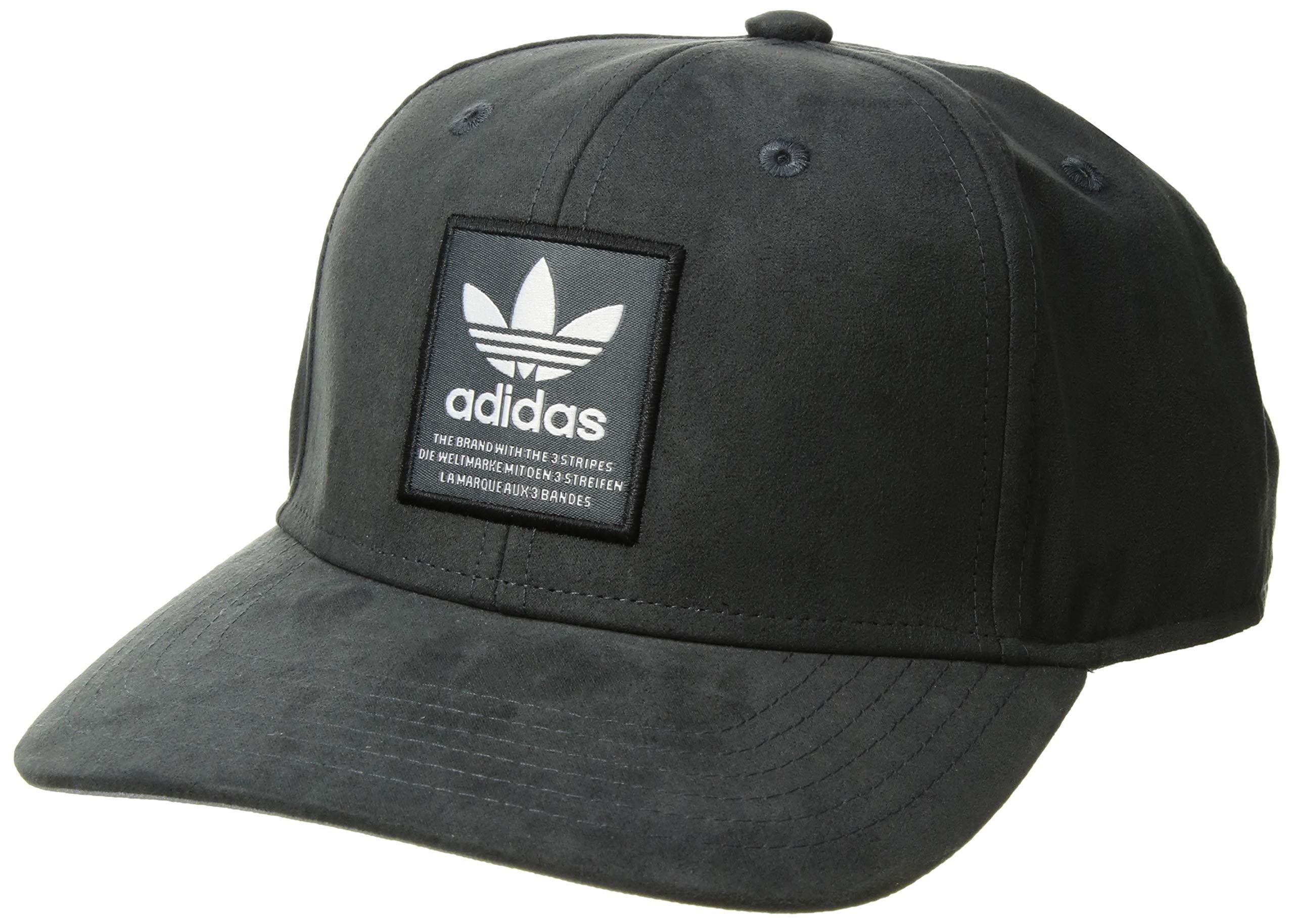0adede59f52c7f Galleon - Adidas Men's Originals Patch Trucker Structured Cap, Onix/white/ black, One Size