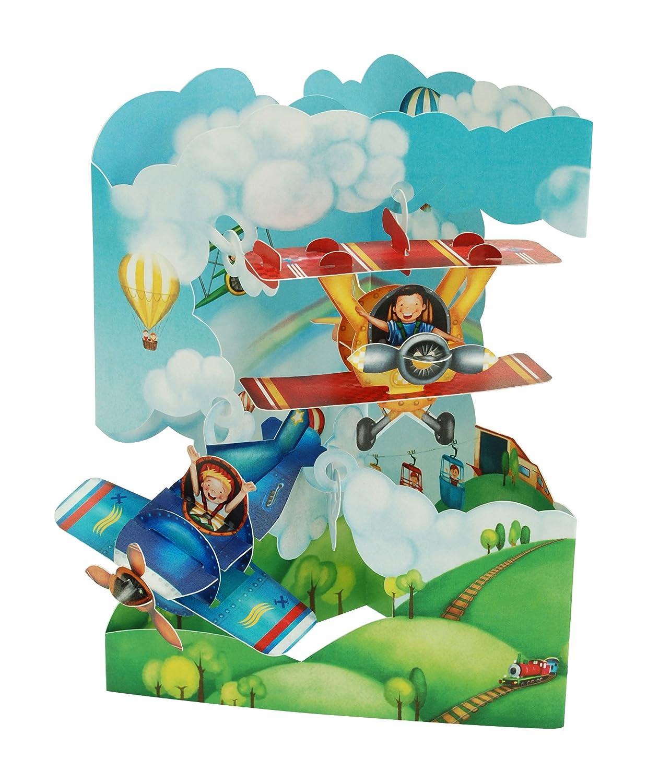 Santoro 3D Swing Card Planes