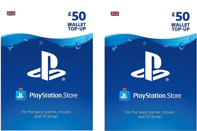 PlayStation PSN Card 100 GBP Wallet Top Up | PSN Download Code - UK