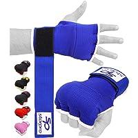 Starpro Guantes Interiors Boxeo Envolturas - Elástico Acolchado Cinta Vendas Bueno para MMA Artes Marciales Muay Thai…