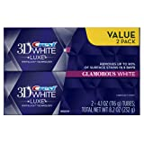 Amazon Price History for:Crest 3D White Luxe Glamorous White, Vibrant Mint Flavor Whitening Toothpaste - 4.1 Oz Ea, Twin pack