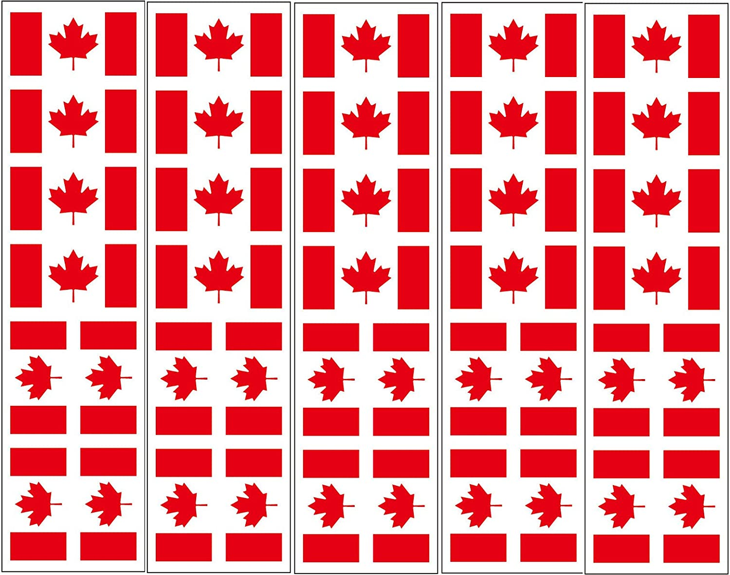 40 Tattoos: Canada Flag, Canadian Party Favors