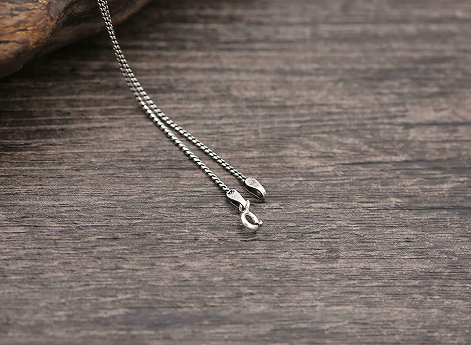 Aooaz Jewelry Pendant Necklaces for Men Women Silver Material Necklace Snake Chain Chain Necklace