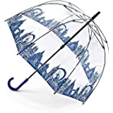 Fulton Birdcage 2 Dome Shape Umbrella London Icons - New!