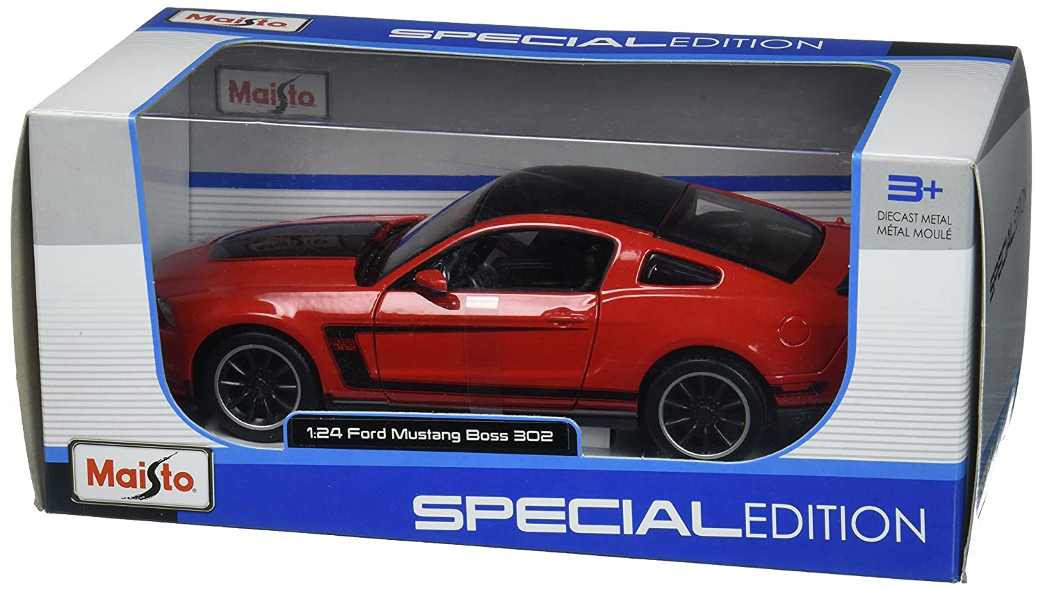 Maisto 2012 Ford Mustang Boss Diecast Vehicle