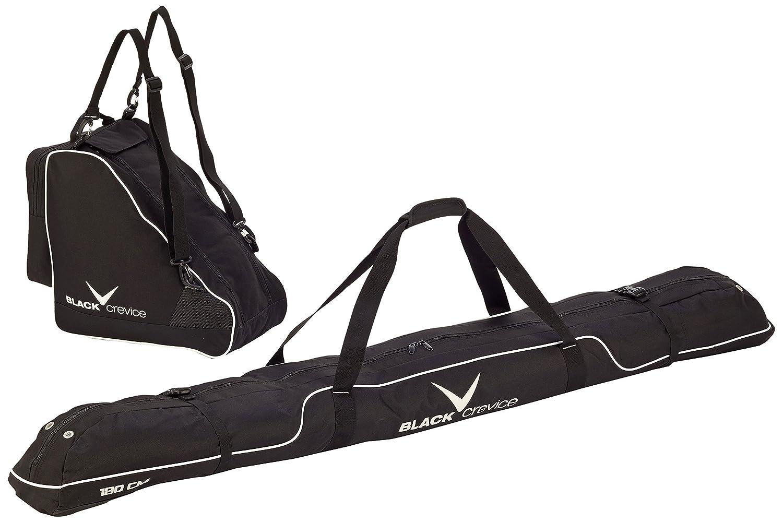 Black Crevice Black Embout Crevice Sac de ski et sac à chaussures de ski en kit, , bcr083720
