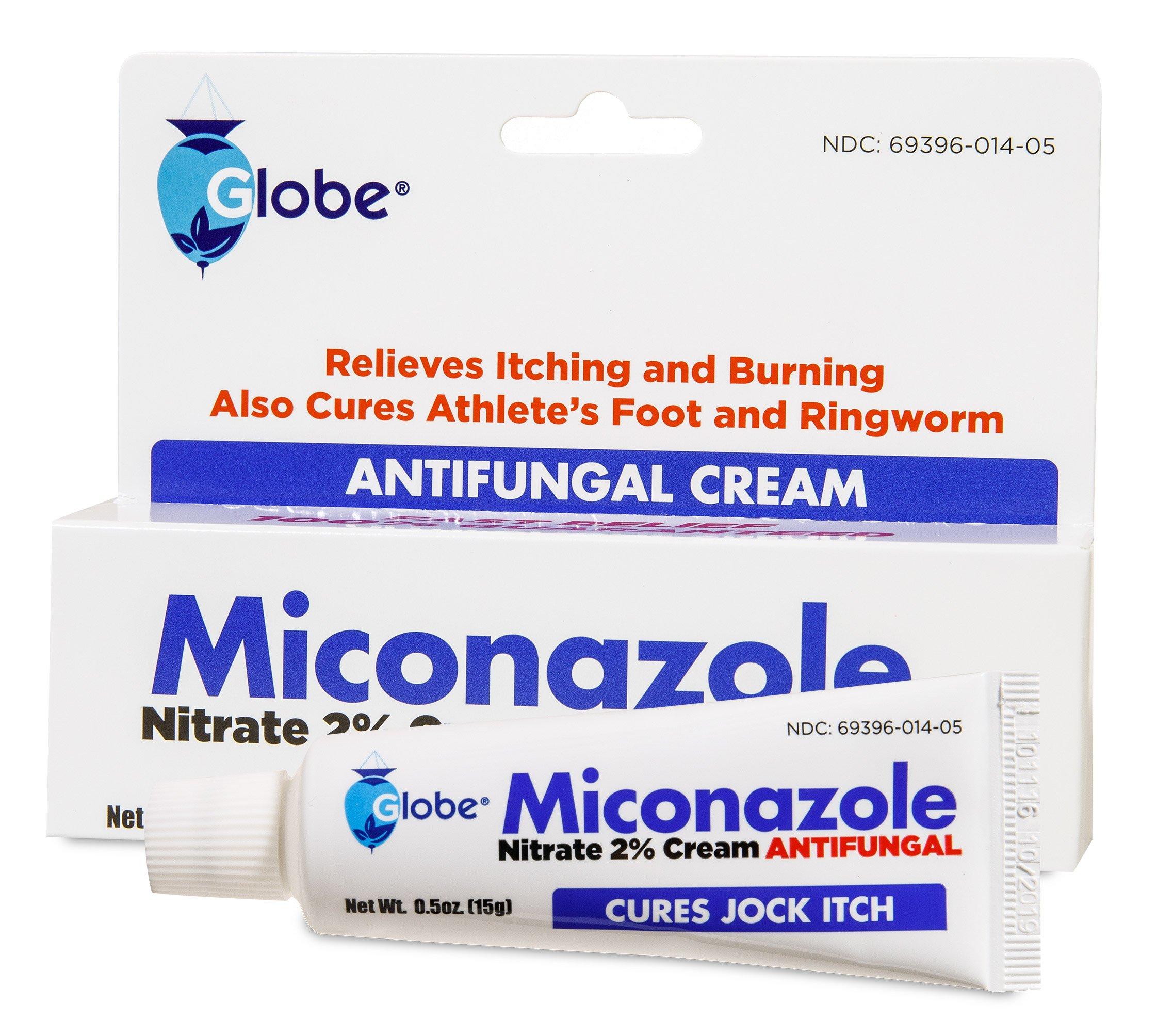 Miconazole Nitrate 2 % Antifungal Cream - 0.5 Oz