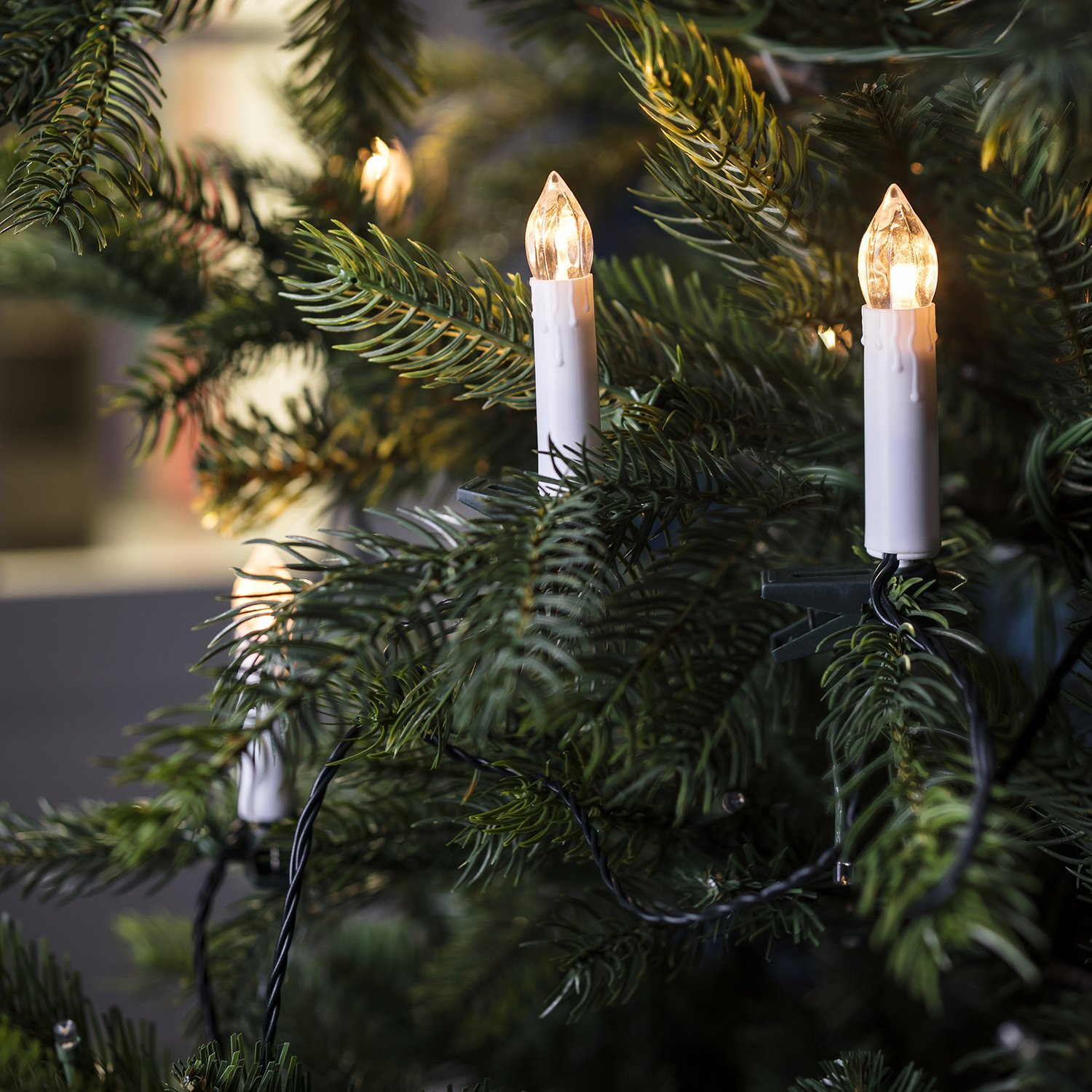 Candles For Christmas Tree