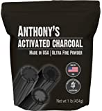 Anthony's Activated Charcoal, 1lb, Made in USA, Ultra Fine, Gluten Free & Food Grade