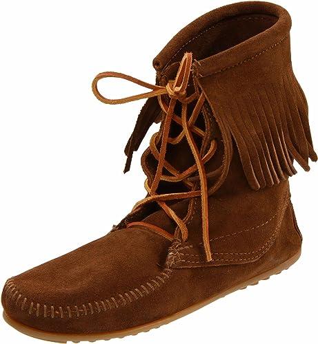 Minnetonka Women S Tramper Ankle Hi Boot Amazon In ज त और ह डब ग