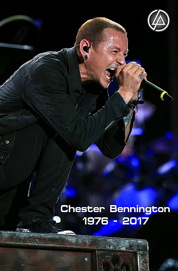 Chester Bennington 19 Photo Linkin Park Rock Band Legends Picture Music Poster