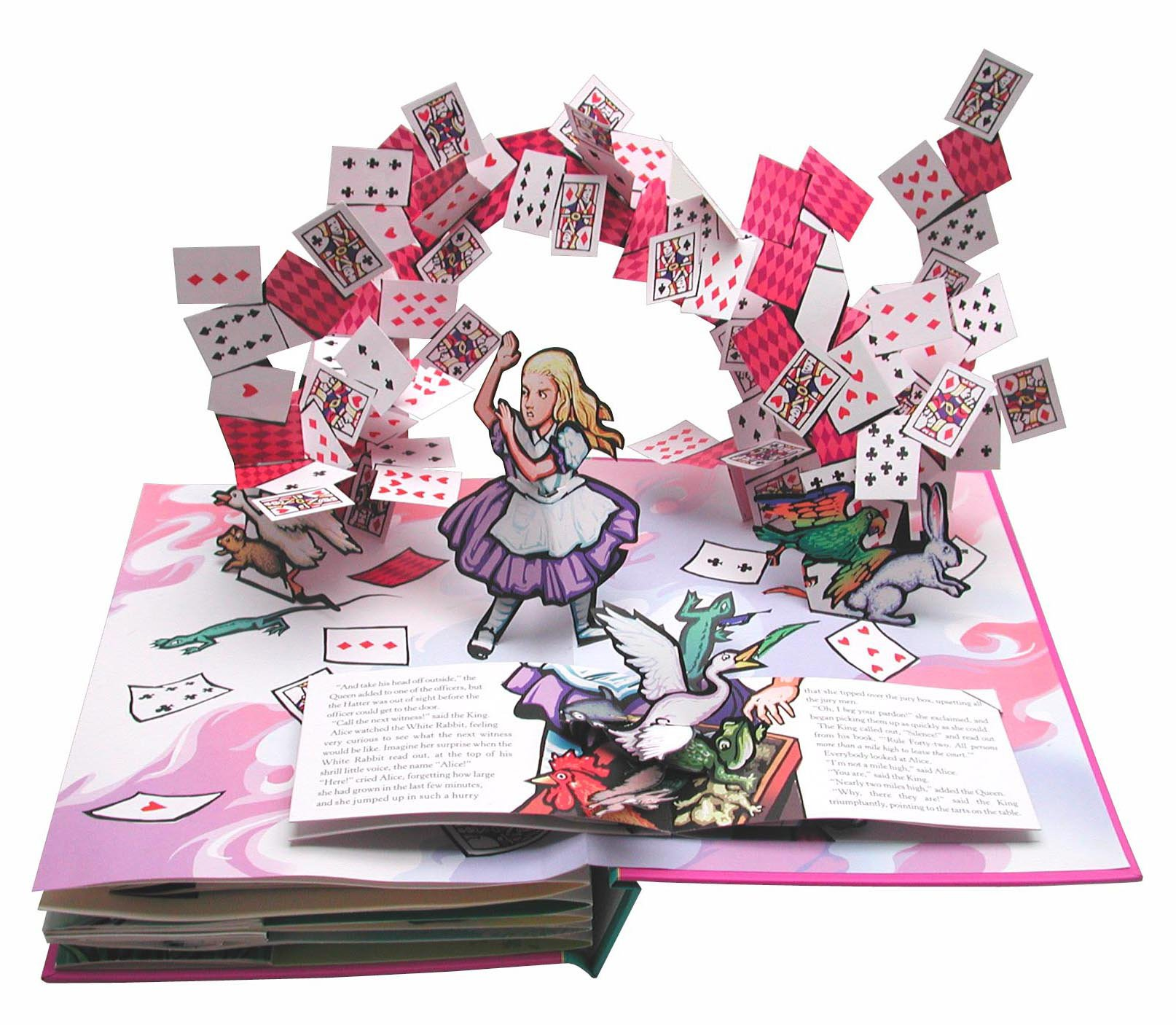 Alice's Adventures in Wonderland: A Pop-up Adaptation by Little Simon